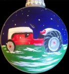 Antique Ford Tractor personalized Chistmas ornament makes a wonderful gift for farmers - 1950 Ford 8N - Name & Date included.  Send in a photo of your tractor! $35.00 plus $5.00 shipping.